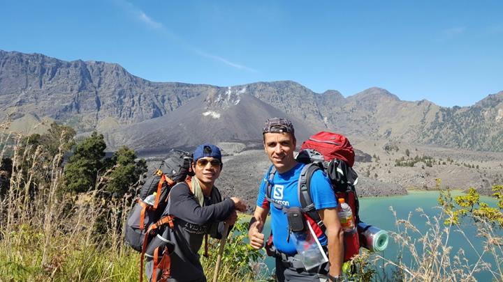 2D-1N Hiking Rinjani to Crater Rim Senaru